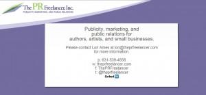 Lori Ames, The PRFreelancer Inc - President & Founder